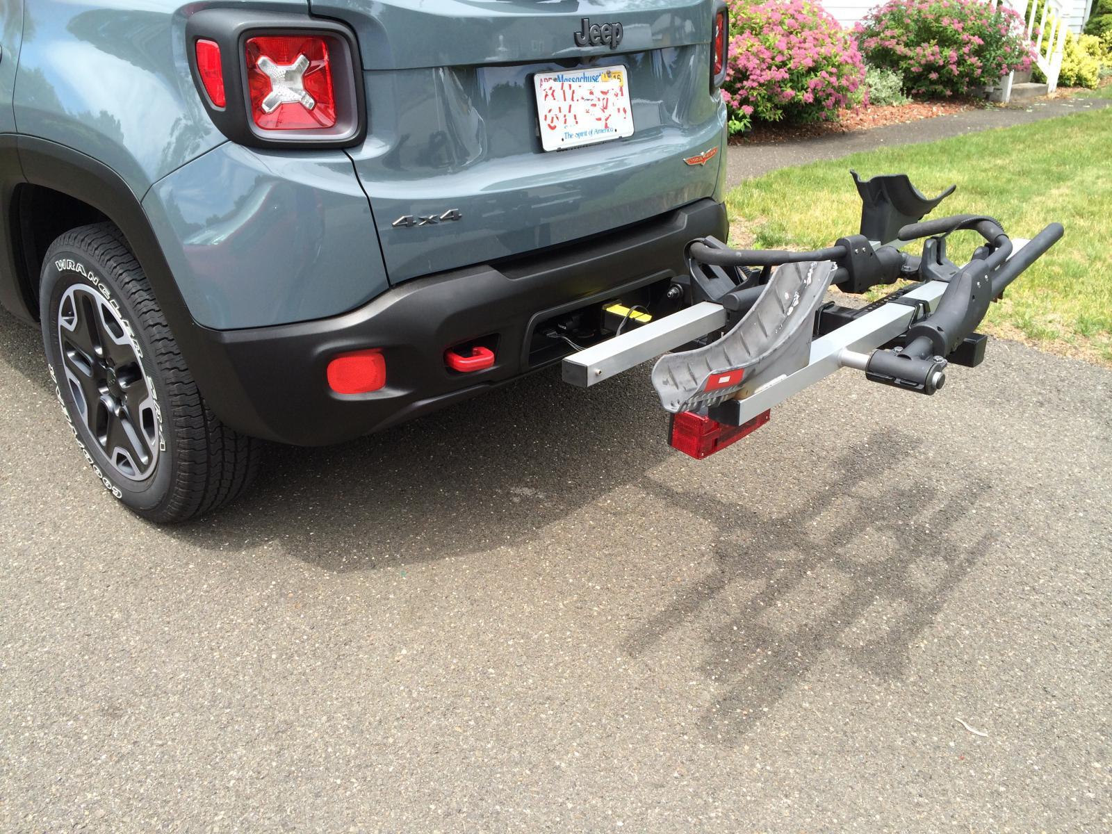 Bike Rack For Jeep Renegade >> Hitch Bike Rack Jeep Renegade Forum