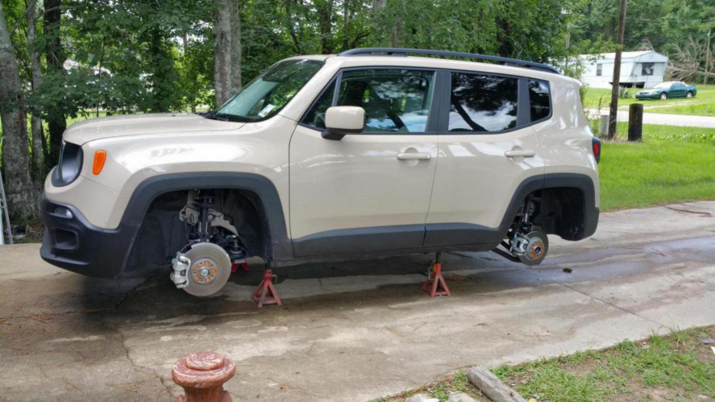 Possible To Place Rear End On Jack Stands Jeep Renegade Forum