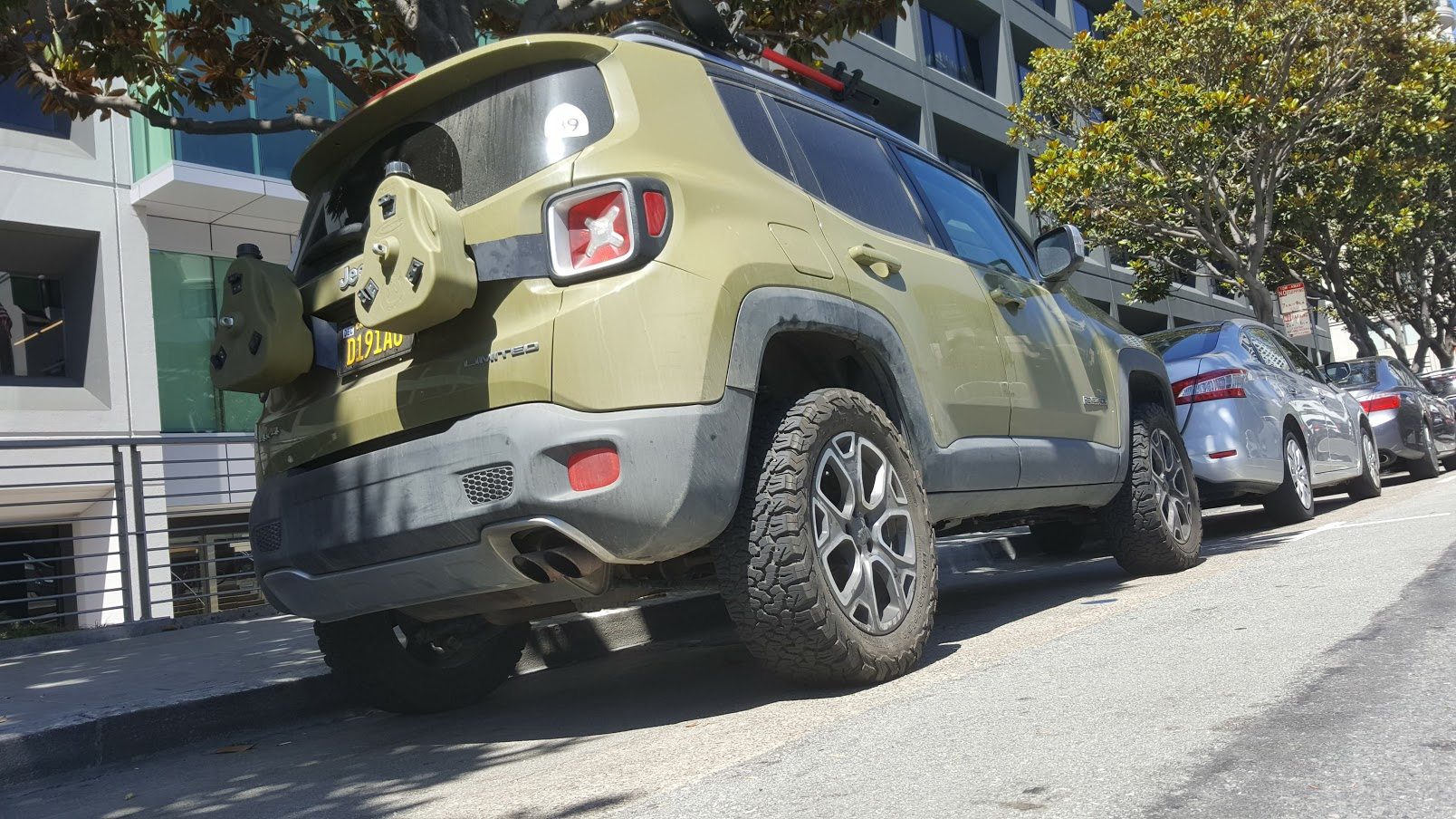 installed the atp renegade 2.0 liftkit - jeep renegade forum