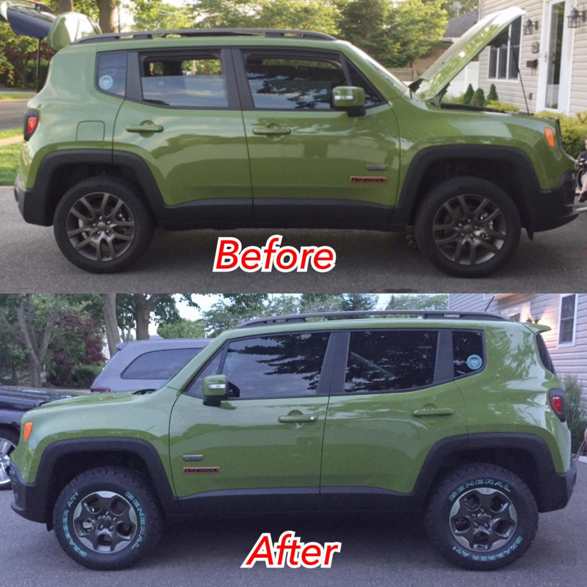 235/70/16 general grabbers, with lift-no rub - jeep renegade forum