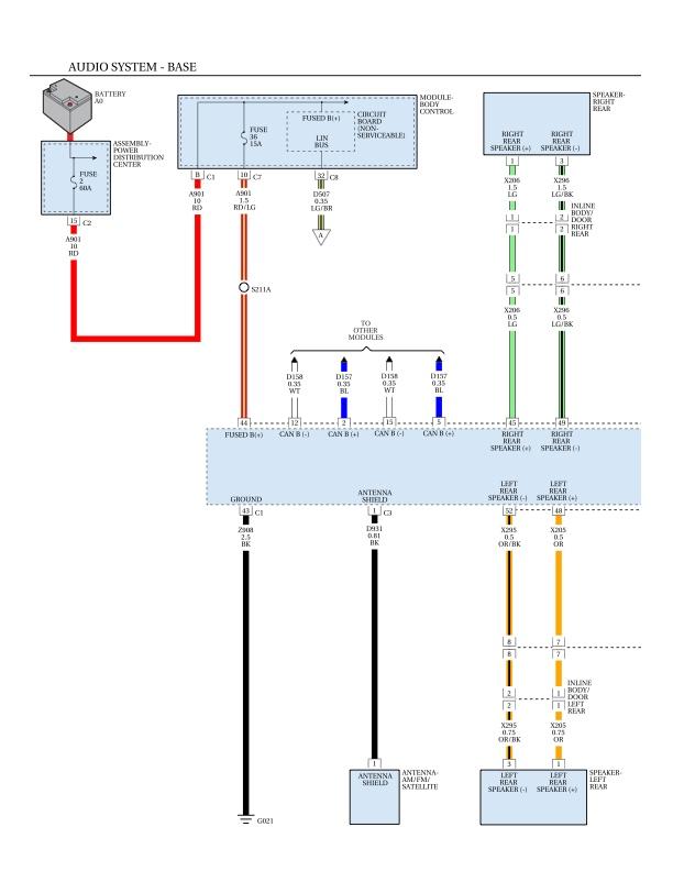 Wiring Diagram 6 Speaker System Jeep Renegade Forum