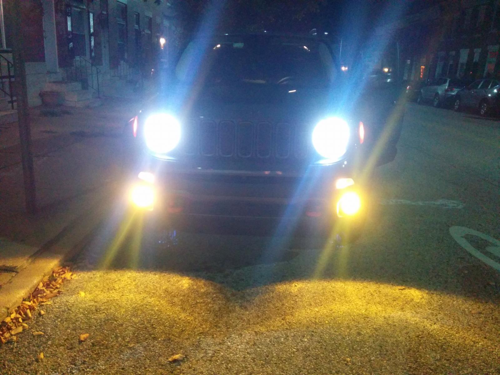 Fog Light Drl Signal Replacement Tutorial Jeep Renegade Forum