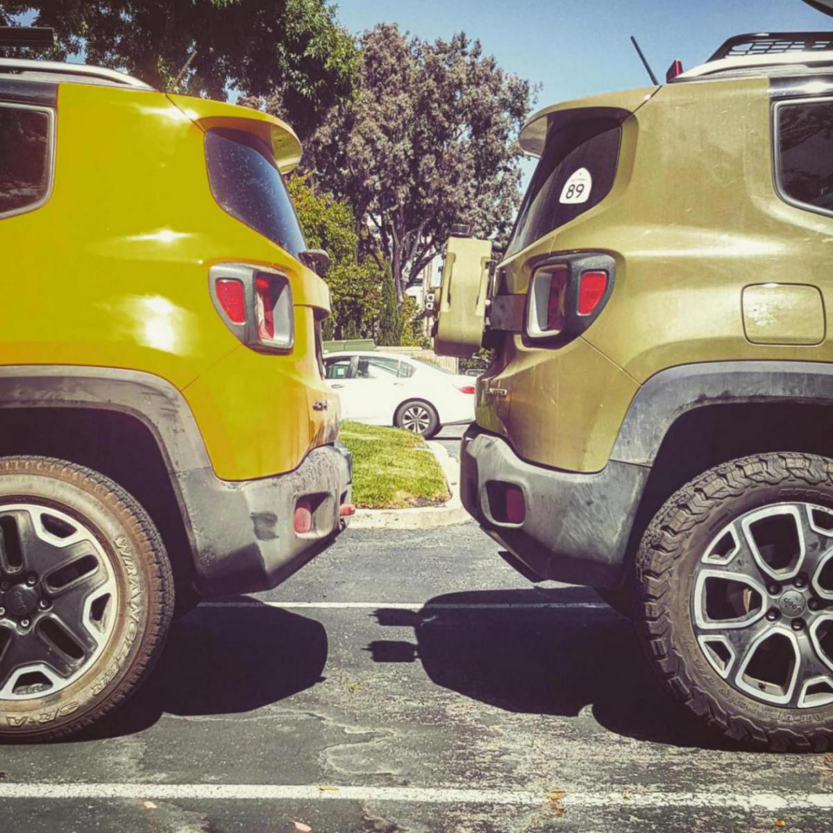 trailhawk vs 4x4 trims ride height discrepency - jeep renegade forum
