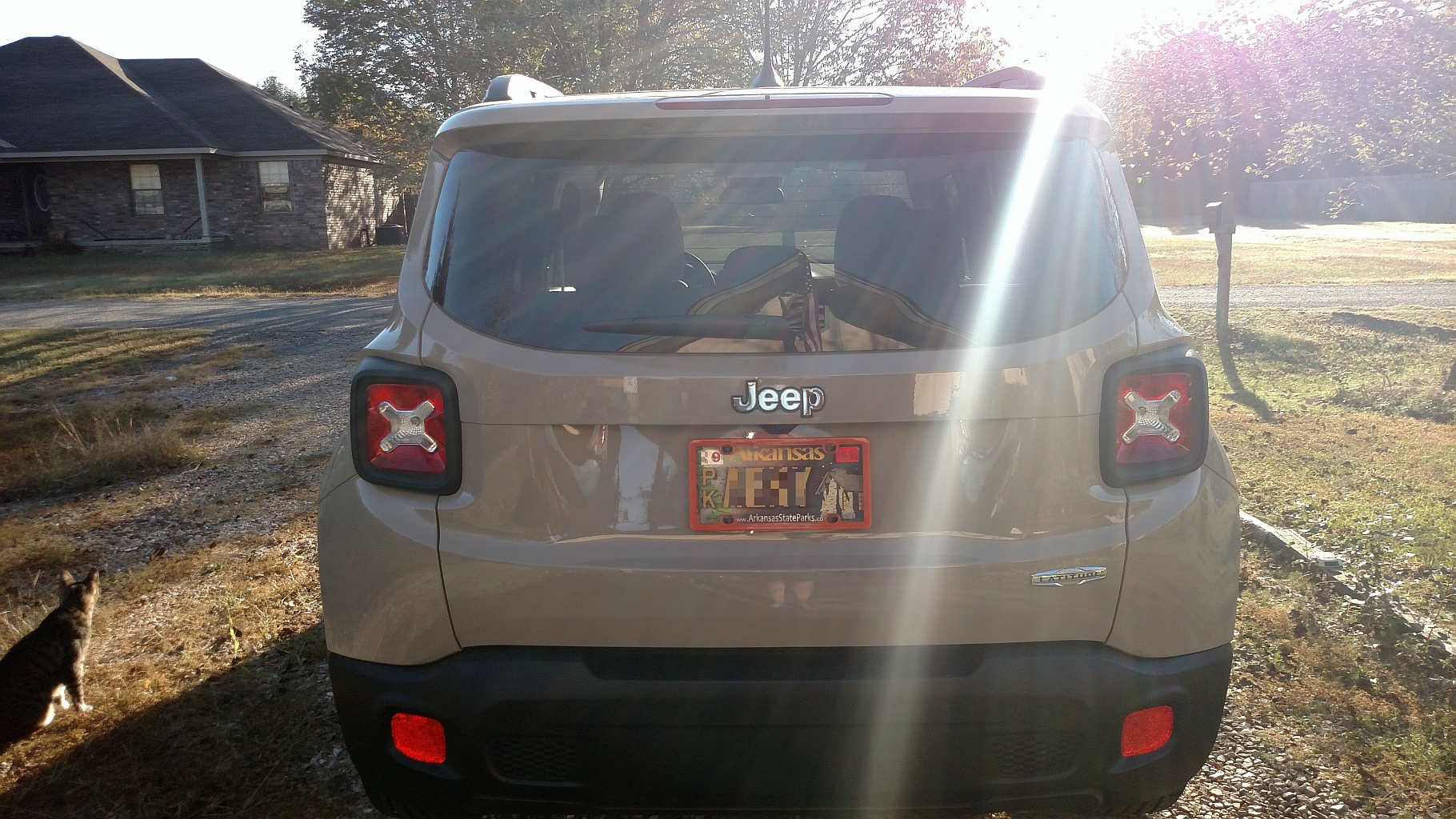 How are you mounting rear license plate? - Jeep Renegade Forum