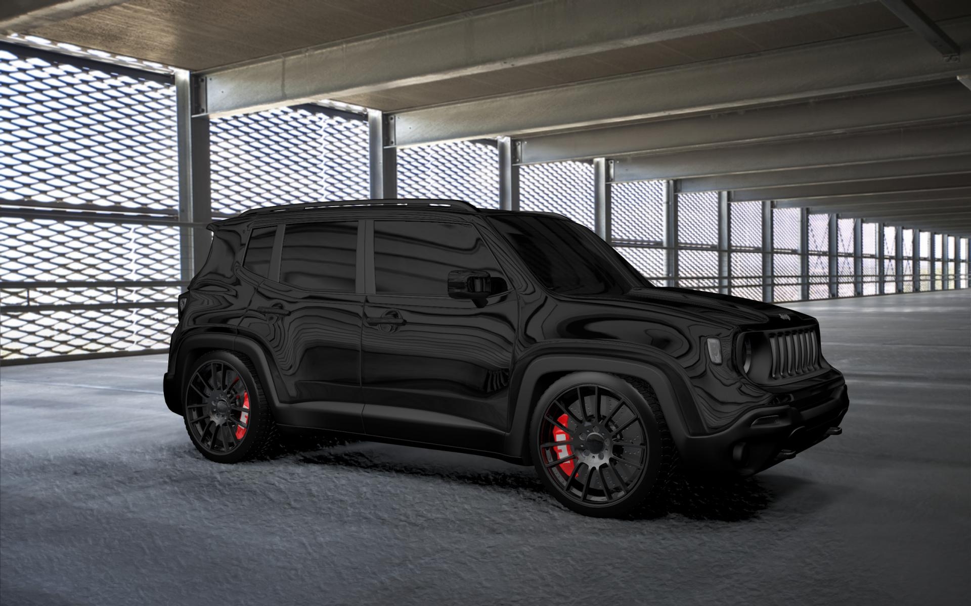 Blacked Out Renegade Jeep Renegade Forum