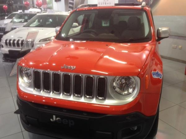 Showcase cover image for Bertie's 2015 Jeep Renegade 2.0 diesel 4x4 Ltd Manual
