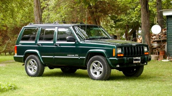 Showcase cover image for Greenjp's 2001 Jeep Cherokee Classic