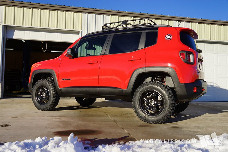 Lifted Jeep Renegade >> Lift Your Renegade With This Daystar Lift Kit Jeep