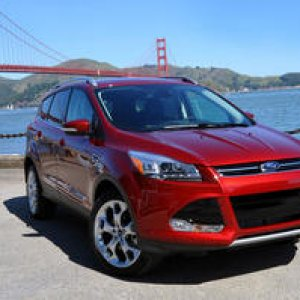 2013 Ford Escape Red Bridge