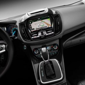 2013 Ford Escape Console